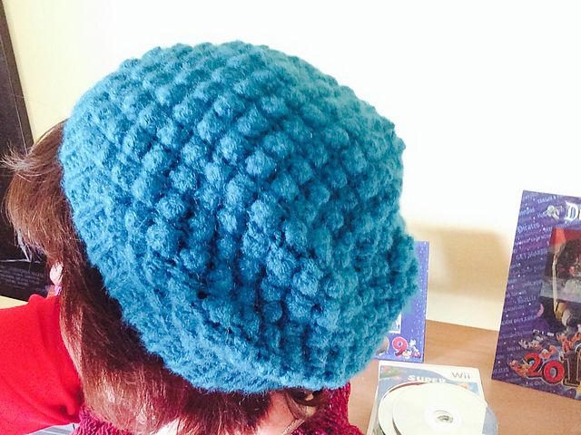 Trinity Stitch Knit Hat Pattern : Ravelry: marthacarolinas Trinity Stitch Hat Things Ive made Pin...