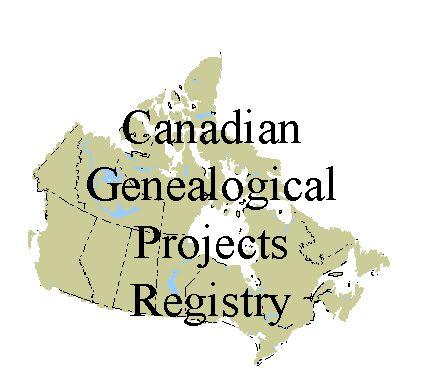 Canadian Genealogical Projects Registry