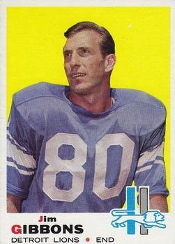 1969 Topps #189 Jim Gibbons Front