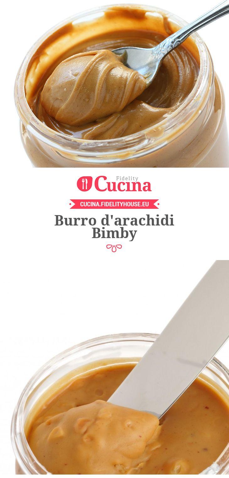 Burro d'arachidi Bimby