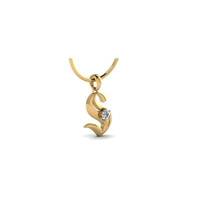 27 best alphabet pendants with letter images on pinterest bombay buy customized initial s gold pendant with you name engraving on the pendant online india at aloadofball Choice Image