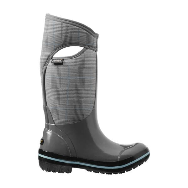 $140 Plimsoll Prince of Wales High Women's Insulated Boots - 71540 - Waterproof Boots & Shoes for Men, Women & Kids - Bogs