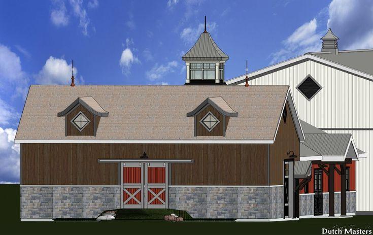 Heritage-Look Stable - Dutch Masters Horse Barn Builders Ontario