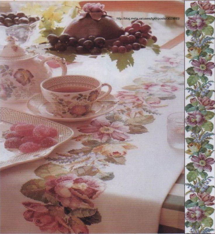 Вышивка для скатерти ВИКТОРИАНСКАЯ http://blog.meta.ua/communities/zoloe-ki/posts/i3029694/