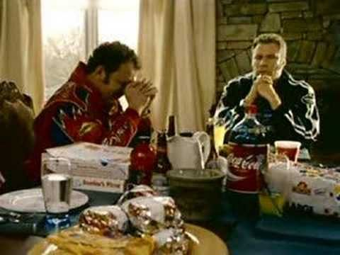 Prayer to baby Jesus (Talladega Nights) makes me laugh, every.time.