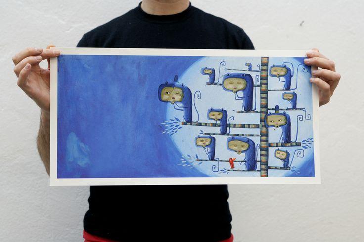 """miguel tanco-store Print/Impresión """"El rey de los animales"""" II http://migueltanco.com/store/prints/ €43.00"""