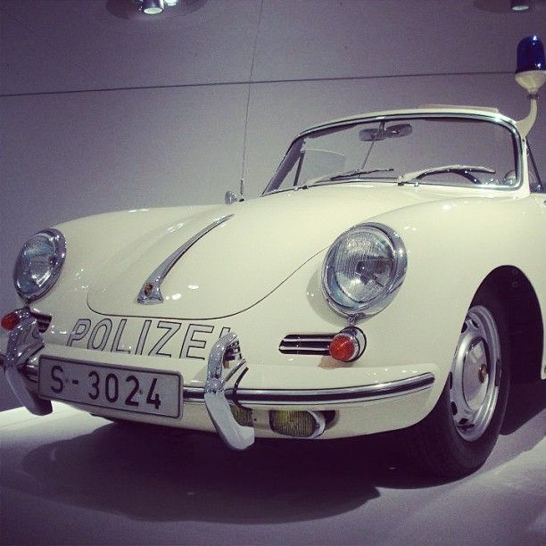 356 Speedster Police Car