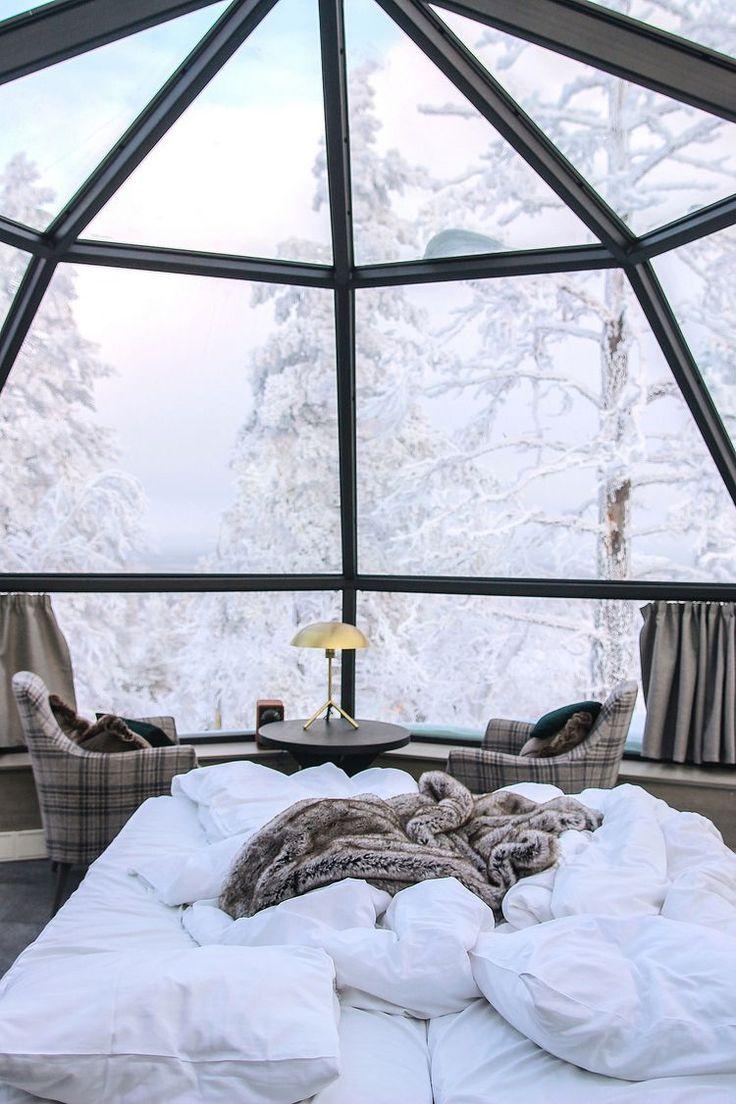 Morning in a glass igloo (JO'S SECRET)