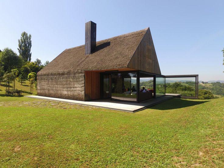 17 migliori idee su ingresso portico su pinterest for Piani di casa cottage con veranda protetta
