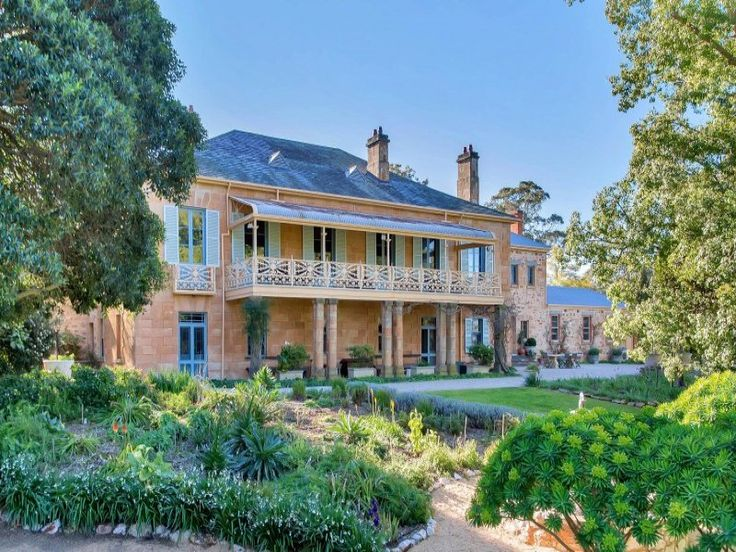 Yattalunga is one of South Australia's finest historic estates. It features 21 grand rooms and six acres of romantic botanical gardens. 947 Gawler - One Tree Hill Road, Yattalunga #ausliveshere