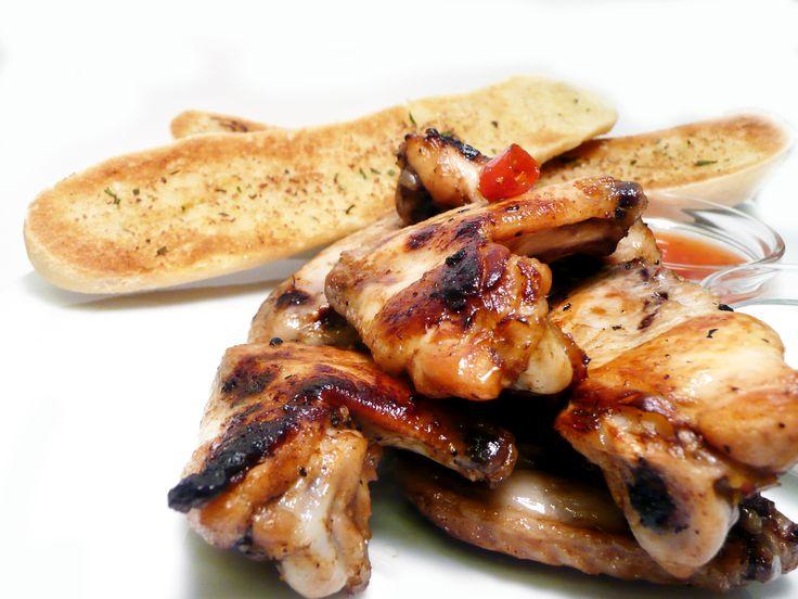 Pečená kuřecí křídla #ukastanujarov http://www.ukastanu.cz/jarov