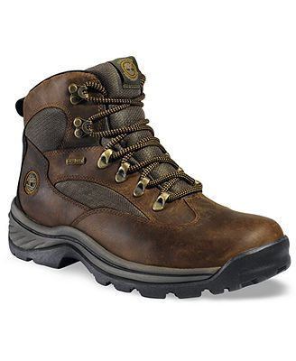 Timberland Gore-Tex Hiking Boots. I wear my boots all of the time.