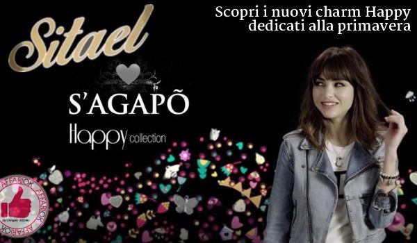 clicca qui Scopri I Nuovi Charm Happy Dedicati Alla Primavera Da Sitael http://affariok.blogspot.it/