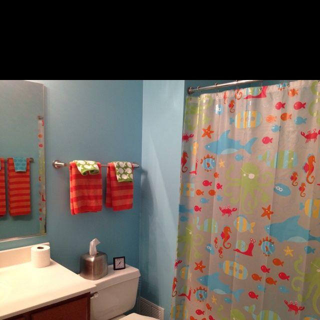 Best Kids Bathrooms: 37 Best Kids Bathroom Images On Pinterest