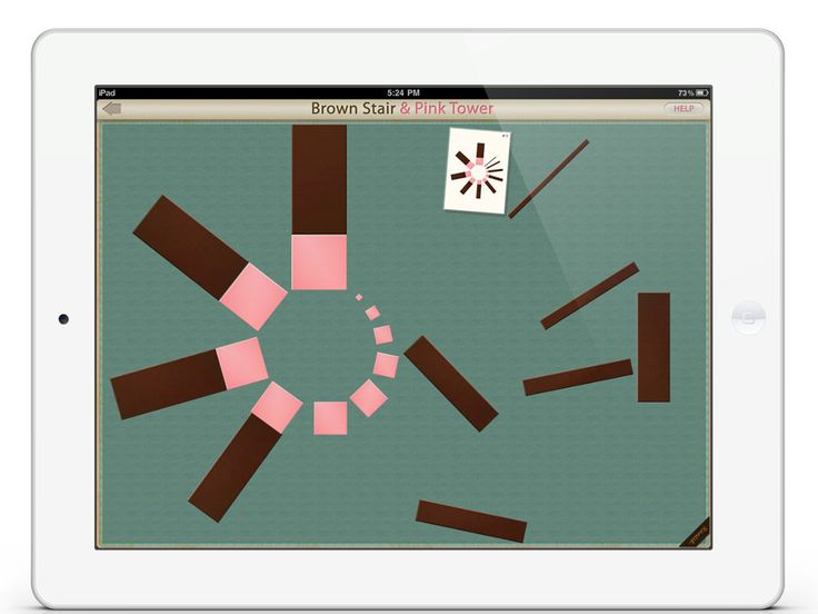 Brown Stair & Pink Tower app by Mobile Montessori