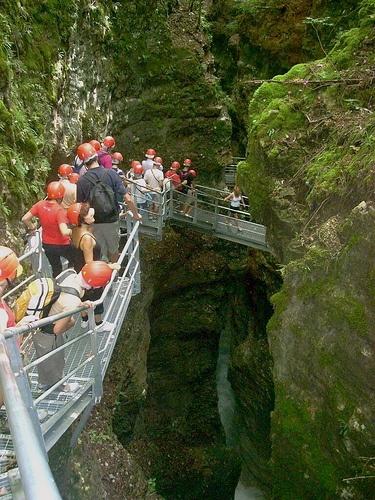 Canyon Rio Sass Fondo Val di non Trentino Italy