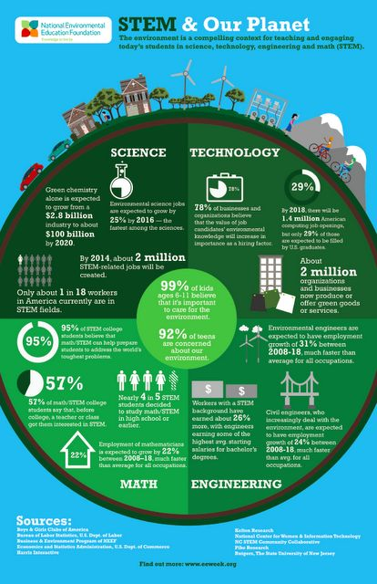 The environment is a compelling context for teaching and engaging today's students in science, technology, engineering and math.