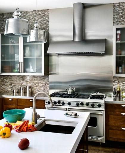 15 Contemporary Kitchen Designs With Stainless Steel: Best 25+ Stainless Steel Countertops Ideas On Pinterest