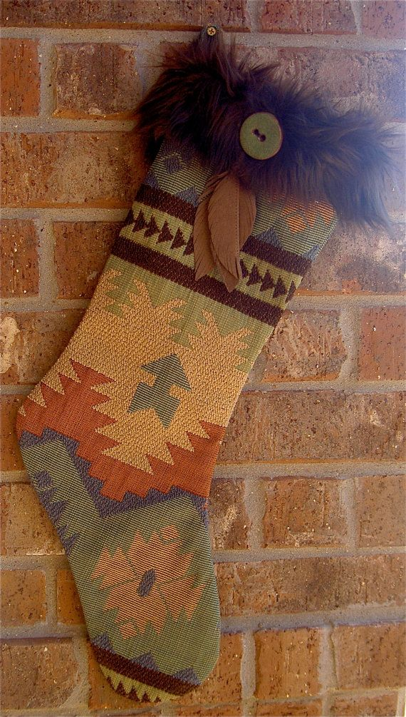 "Christmas Stocking - ""Santa"" Fe                                                                                                                                                                                 More"