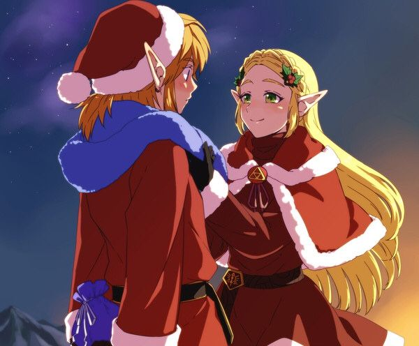 A Hyrule Christmas , This is pretty adorable.