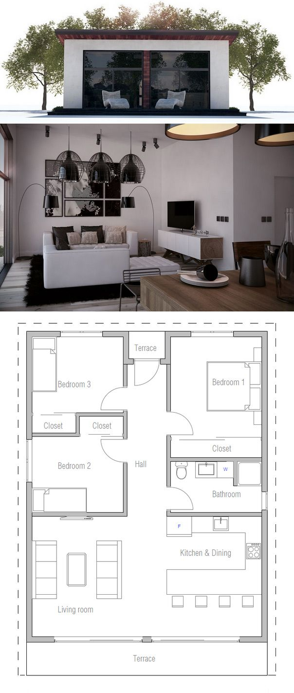 Small House Plan Very Low Construction Price