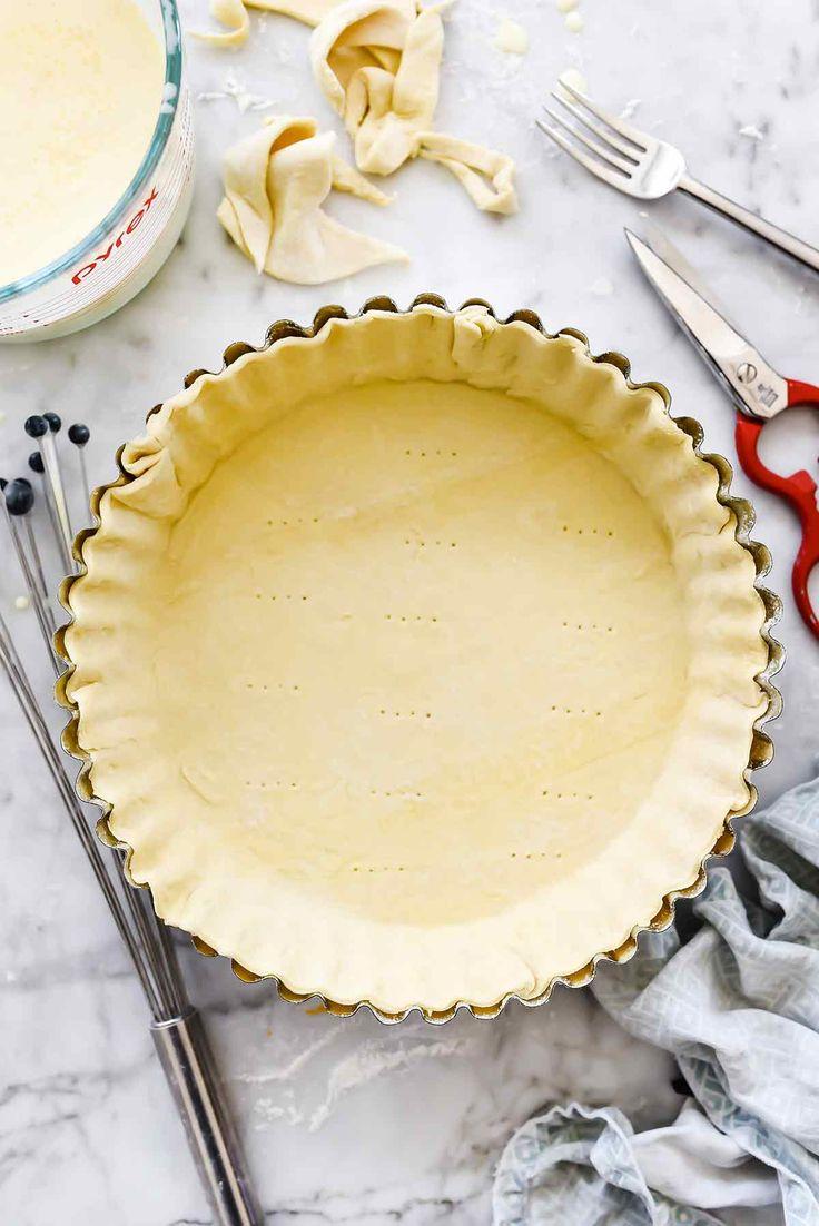 Puff Pastry Pie Shell Quiche | foodiecrush.com