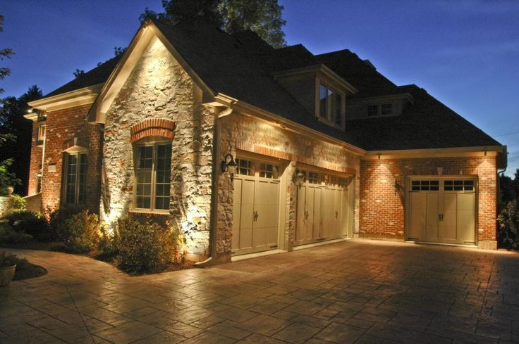 17 best ideas about garage lighting on pinterest tool bench garage storage and diy garage storage Exterior accent lighting for home