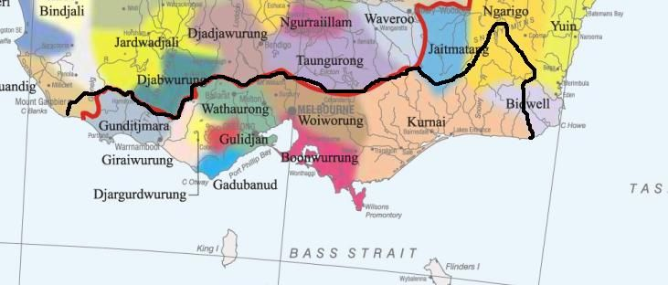 Wonthaggi State based on Indigenous peoples' history and the flow of water.