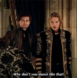 Bash and Francis Reign gif