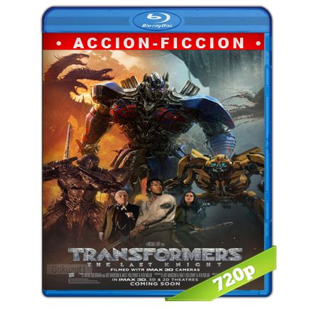 Transformers 5 El Ultimo Caballero HD720p Audio Trial Latino-Castellano-Ingles 5.1 (2017)