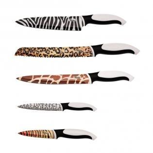 """Genius Zestaw noży """"Sambesi"""" http://www.redcoon.pl/b3059-Genius_c08190700-Noże-i-sztućce"""