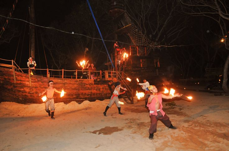 PARTY : FIRE DANCE #Lunch #Dinner #Activity - The Pirates Bay Nusa Dua Bali l Indonesia