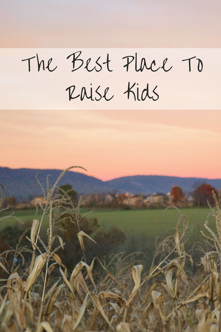 The Best Place To Raise Kids