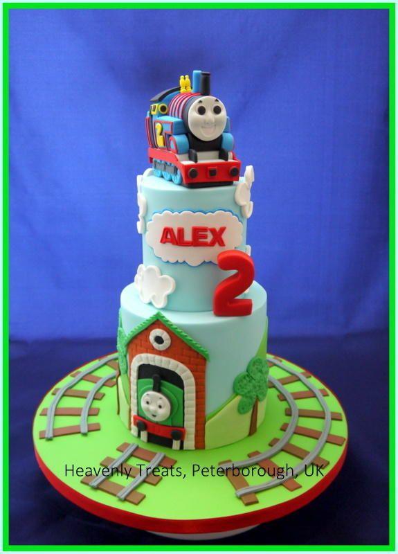 Thomas the tank engine - Cake by Heavenly Treats by Lulu