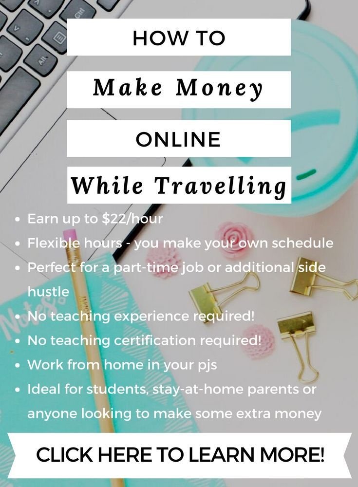 make money online make extra money side hustle stay at home mom stay