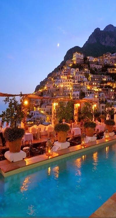 The beautiful Amalfi Coast in Campania, Italy #italyholidays #wishiwashere