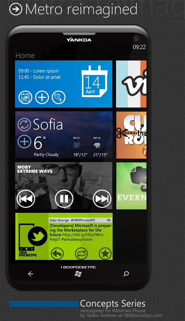 Concept of Windows Phone 8... really nice