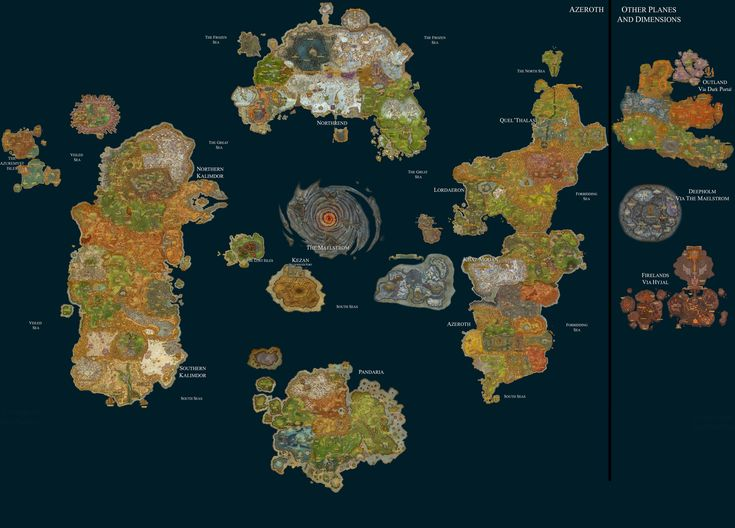 25 Best Ideas about Map Of Azeroth on Pinterest Middle