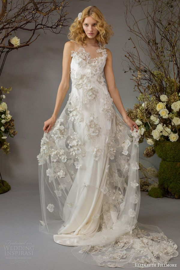 Elizabeth Fillmore Fall 2014 Wedding Dresses | Wedding Inspirasi
