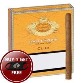 With its rich earthy flavor touched by hints of cherry and coffee, Partagas Mini Club cigar is a convenient companion to turn a 20 minute break into a pleasurable, relaxing moment.