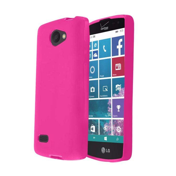 Zizo Slim-fit Flexible TPU LG Lancet Case - Hot Pink
