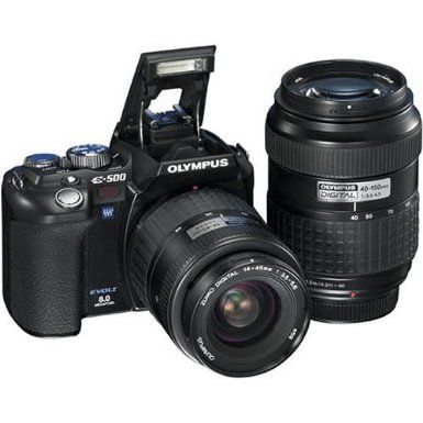 Olympus evolt digital slr with zuiko lenses slr digital cameras camera photo