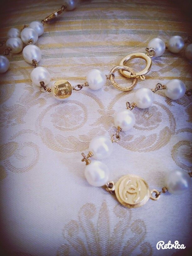 Chanel jewels from the seventies in Wonderland Capri vintage store