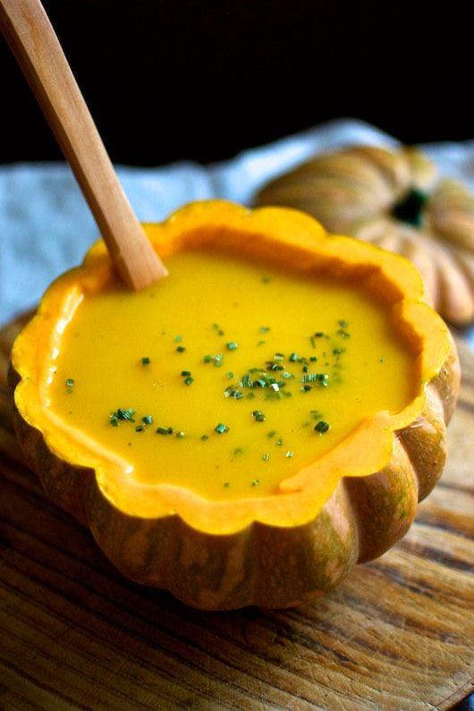 Sopa de calabaza, receta tradicional de Halloween con Thermomix (Thermomix en el…
