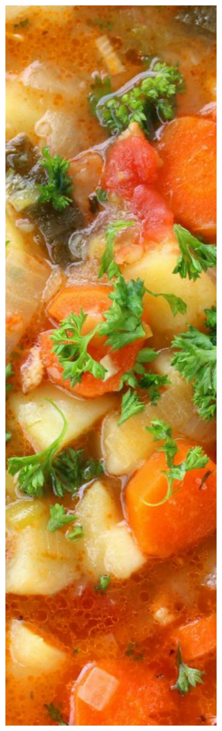 German Potato Soup ~ This delicious, authentic German Potato Soup will satisfy both tummy and soul!