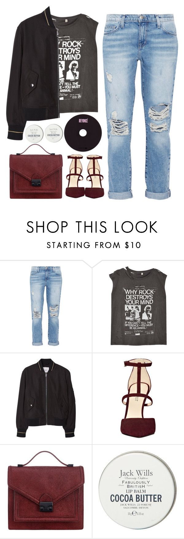 """Untitled #196"" by tmizzle on Polyvore featuring Current/Elliott, R13, MANGO, Nine West, Loeffler Randall, Jack Wills, women's clothing, women, female and woman"