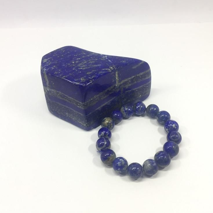 115.85 Carat , 16 Round Beads Handmade Bracelet With Elastic Stretch,Grade AA Quality Beads