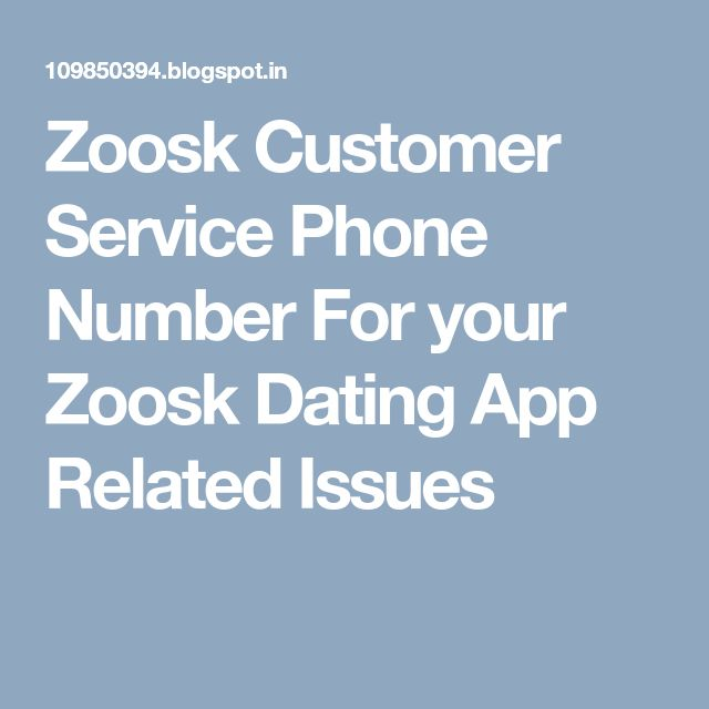 zoosk dating site customer service