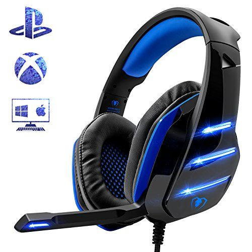 Gaming Headset for PS4 Xbox One PC 2354fa2a9290