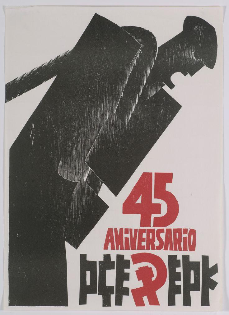 P.C.E.-E.P.K. [Material gráfico]: 45 aniversario.--[s.l.]: P.C.E.-E.P.K., [1980] 1 lám. (cartel): col.; 70x50 cm.